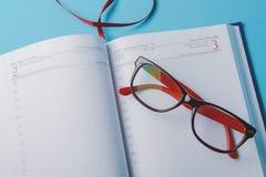 Unternehmensplanung mit Kopienraum und -Büroartikel Stockbild