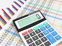 Unternehmensplanung und Analysieren Lizenzfreies Stockbild