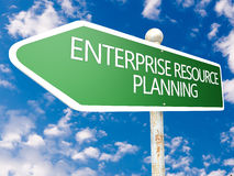 Unternehmensressourcenplanung Lizenzfreies Stockbild