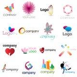 Unternehmenssymbol-Elemente Stockfotos