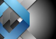 Unternehmenstechnologiezusammenfassungs-Vektorhintergrund Stockfotos