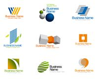 Unternehmensvektorzeichen Stockfoto