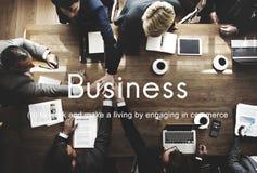 Unternehmenswachstums-Konzept Business Commercial Company Lizenzfreies Stockfoto
