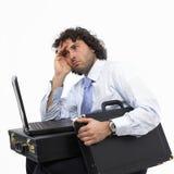 Unternehmenszusammenbruch lizenzfreies stockbild