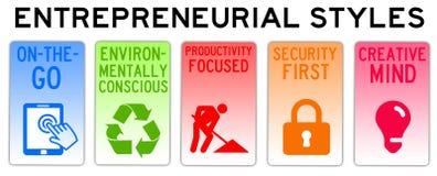 Unternehmerarten Stockfotos