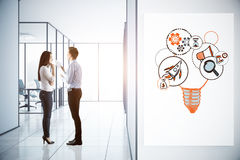 Unternehmergeistkonzept stockfoto
