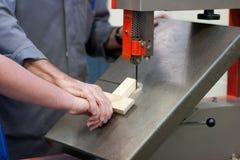 Unterrichtende Holzbearbeitung Lizenzfreie Stockfotos