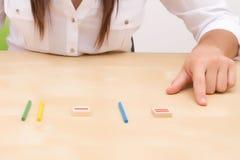 Unterrichtendes Mathe Lizenzfreies Stockfoto