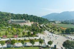 Unterrichtsbereich Fuzhou-Universität Lizenzfreies Stockbild