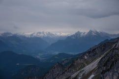 Untersberg山,萨尔茨堡,奥地利 库存图片