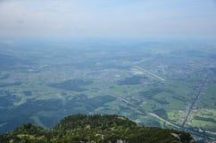 Untersberg山,萨尔茨堡,奥地利 免版税库存图片
