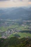 Untersberg山,萨尔茨堡,奥地利 免版税库存照片
