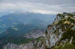 Untersberg山,萨尔茨堡,奥地利 图库摄影