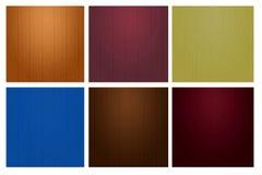 Unterscheiden Sie sich Farbhölzerne Wandbeschaffenheit Lizenzfreie Stockfotos