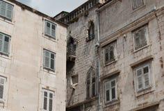 Unterschiedliche Art der alten Architektur Stockbild