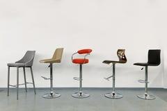 Unterschiedliche dekorative Art des Artstuhllehnsessels und -sofas lizenzfreie stockbilder