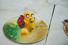 Unterschiedliche Elemente für den Kuchen 3611 der Kinder Lizenzfreies Stockfoto
