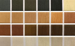 Unterschiedliche Farbe verlegt Palette Lizenzfreies Stockfoto