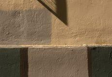 Unterschiedliche Farbwandbeschaffenheit Lizenzfreies Stockbild