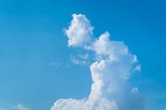 Unterschiedliche Form von Wolken Lizenzfreies Stockbild