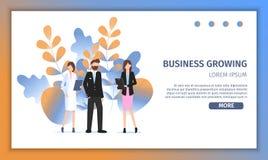 Unterschiedliche Geschäfts-Charakter-Besetzungs-Wahl lizenzfreie abbildung