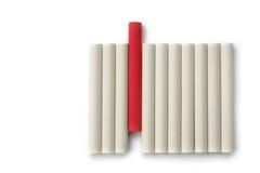 Unterschiedliche Kreide Stockbilder