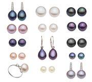 Unterschiedliche Perlenart stockbild