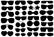 Unterschiedliche Sonnenbrille Stockfoto