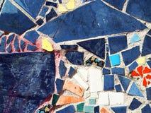 Unterschiedlicher abstrakter Hintergrund der Farbmosaikbeschaffenheit lizenzfreies stockfoto