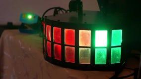 Unterschiedlicher Hintergrund Disco heller lumiere Blitze Farb Lizenzfreie Stockbilder