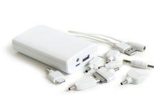 Unterschiedlicher Mobiltelefon-Adapter-Satz Stockfoto