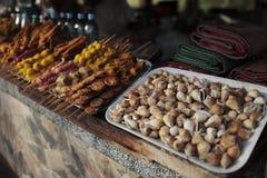 Unterschiedlicher Nahrungsmittelmarkt Lizenzfreie Stockbilder
