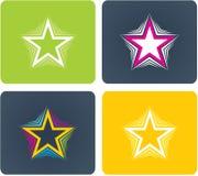 Unterschiedlicher Stern Stockfotografie