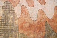 Unterschiedlicher verschachtelter Felsen Stockfoto
