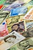 Unterschiedliches Bargeld Stockbilder