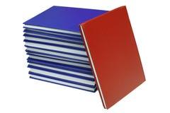 Unterschiedliches Buch Stockbild