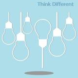 Unterschiedliches Denken Lizenzfreie Stockfotos