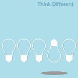 Unterschiedliches Denken Lizenzfreies Stockbild