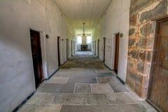 Unterschiedliches Gefängnis im Hafen Arthur Tasmania stockbilder