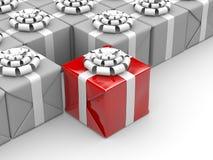 Unterschiedliches Geschenk Stockfotos