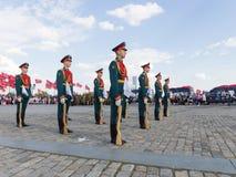 154 unterschiedliches Preobrazhensky Regiment Stockbilder