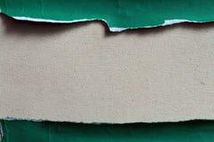 Unterschiedliches Stück Grünbuch Stockfotografie
