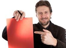 Unterschrift Lizenzfreie Stockfotos