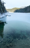 Untersee lake winter view. Stock Photo