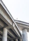 Unterseite der Betonbrücke Lizenzfreies Stockbild