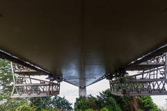 Unterseite der Cleddau-Brücke Lizenzfreie Stockbilder