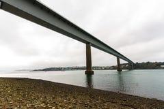 Unterseite der Cleddau-Brücke Stockbilder