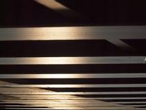 Unterseite der Holzbrücke Lizenzfreie Stockbilder