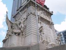 Unterseite des Denkmales Lizenzfreie Stockfotografie
