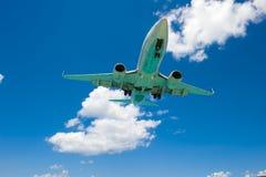Unterseite des Flugzeuges lizenzfreies stockbild